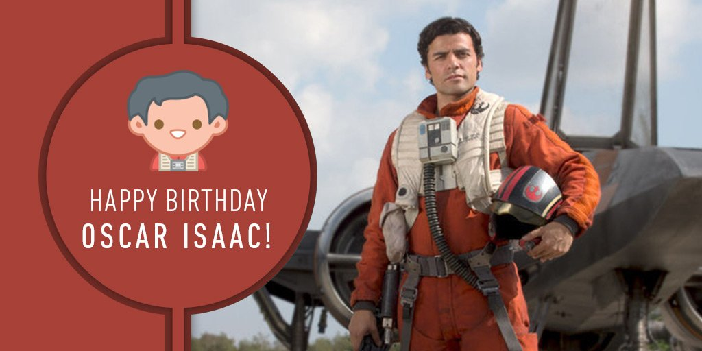 Happy birthday to the best pilot in the Resistance, Oscar Isaac!