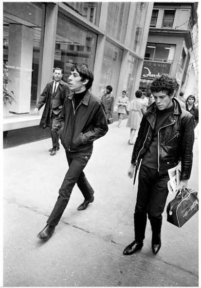 Happy birthday to John Cale. Photo (with Lou Reed) c.1968.