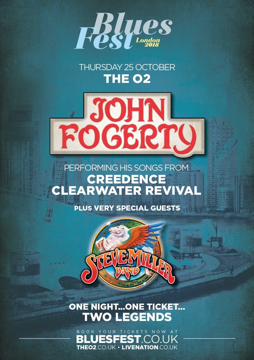 John Fogerty Uk Tour