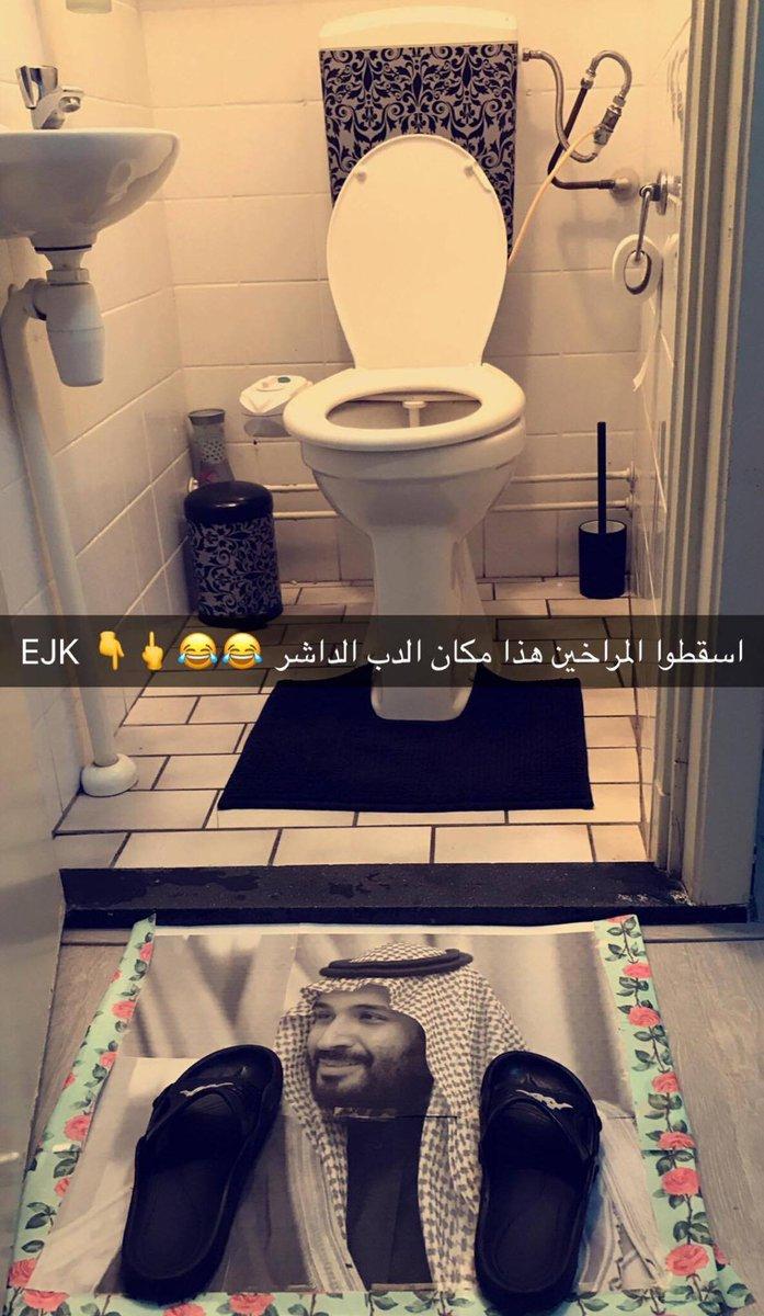 هذا رؤية بن سلمان الجحش افسد الشجر و الب...