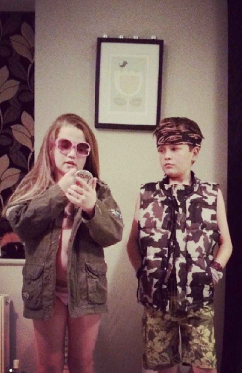 Throwback to when Alfie and Ava did a play as @JoeyEssex_ and @amywillerton 😩😩 @nellw1D https://t.co/ua5XkrOrPh