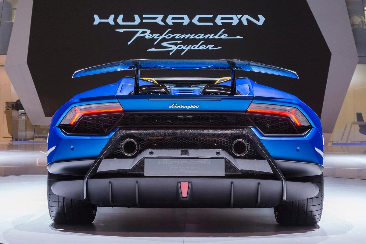 Huracan Performante Lamborghini Huracan Performante Is Finally In