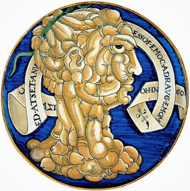 #FrancescoUrbini #TestaDeCazi 1536 #maiolic @ashmoleanmuseum https://t.co/eYgax0ODN7