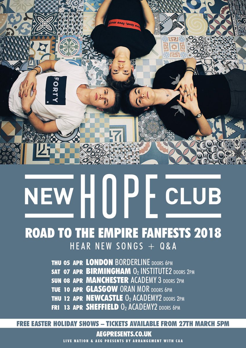 New Hope Club on Twitter: