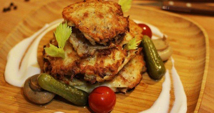 Рецепты драников с мясом