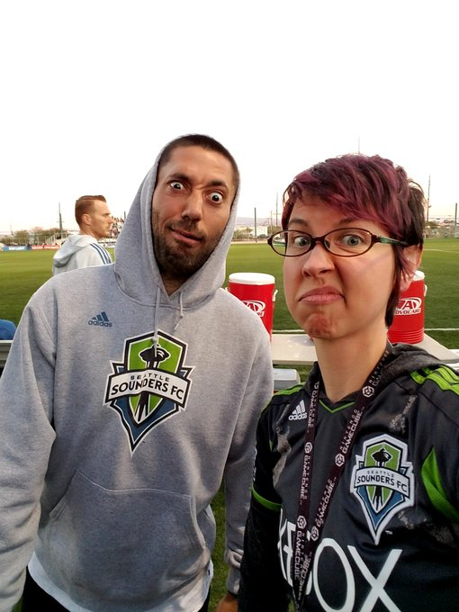 Oh wow, happy birthday to Clint Dempsey who makes the best faces and is extremely good at the game of soccer