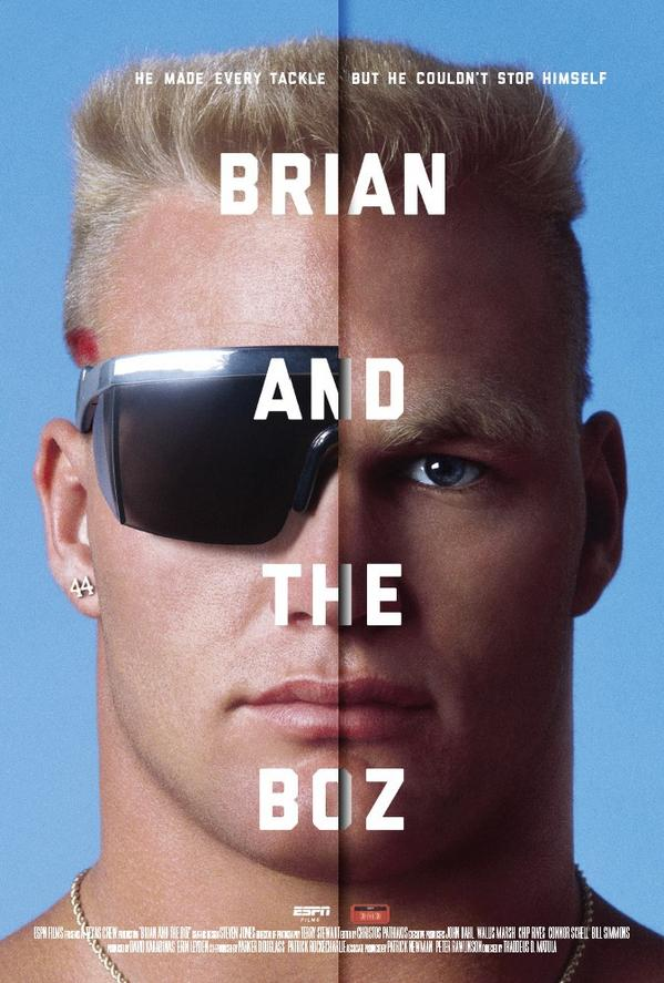 Happy Birthday @GotBoz44! Check out our film 'Brian and the Boz' on #iTunes now. apple.co/2EM5I1A