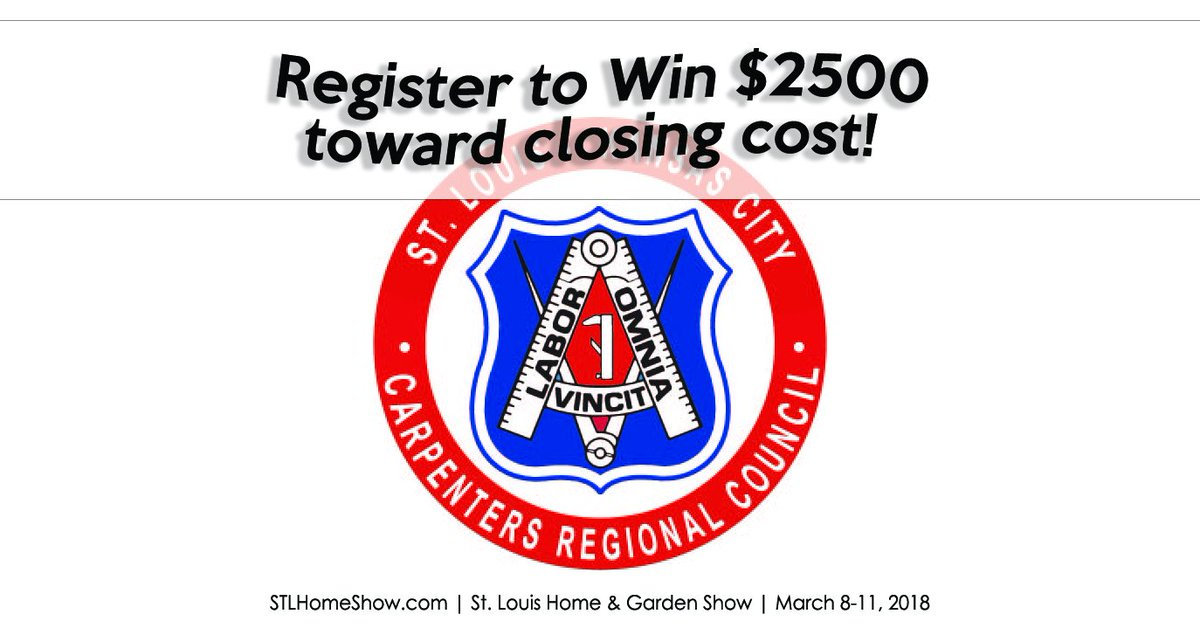 ... Costs On A New Home At The #STLHomeShow, March 8 11 From The St. Louis Kansas  City Carpenters Regional Council! Register For 1 Of 4 Prizes At Booth ...