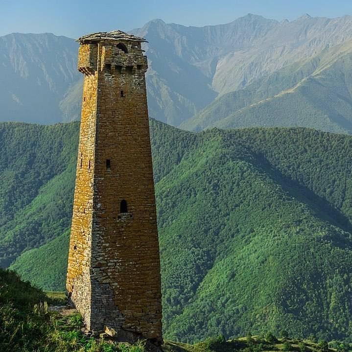 Тематика кавказских башен картинки