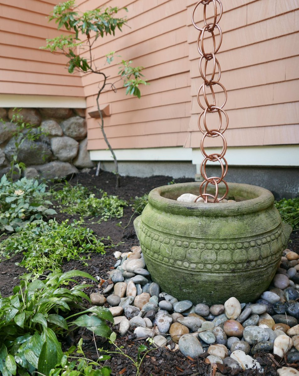 Would You Consider One For Your House Can Watch The Segment Here Https Www Thisoldhouse How To Install Rain Chainpic Twitter