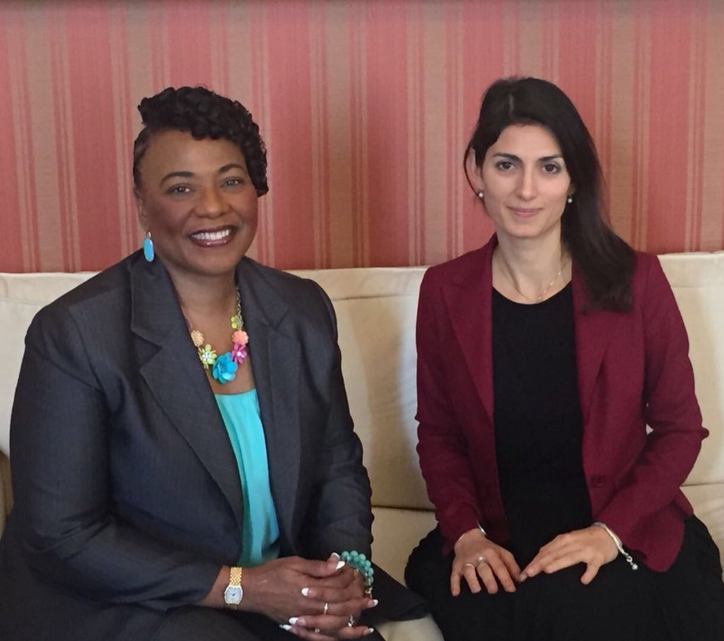 """""""Extremism for love is the only possible response to the extremists for hate."""" Today with @BerniceKing daughter of Martin Luter King, major nonviolent resistance advocate, killed 50 years ago."""