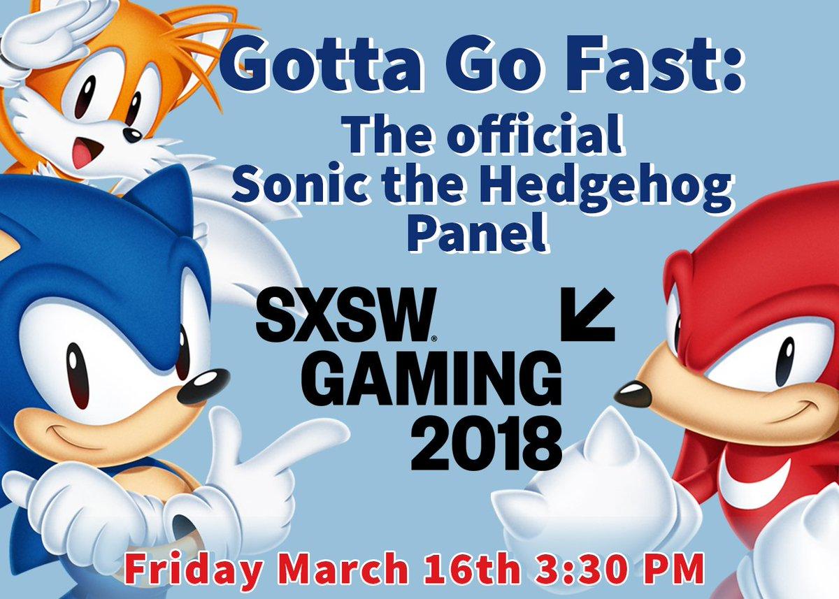 Gotta Go Fast Offcial Sonic The Hedgehog Sxsw 2018 Panel Thread Resetera
