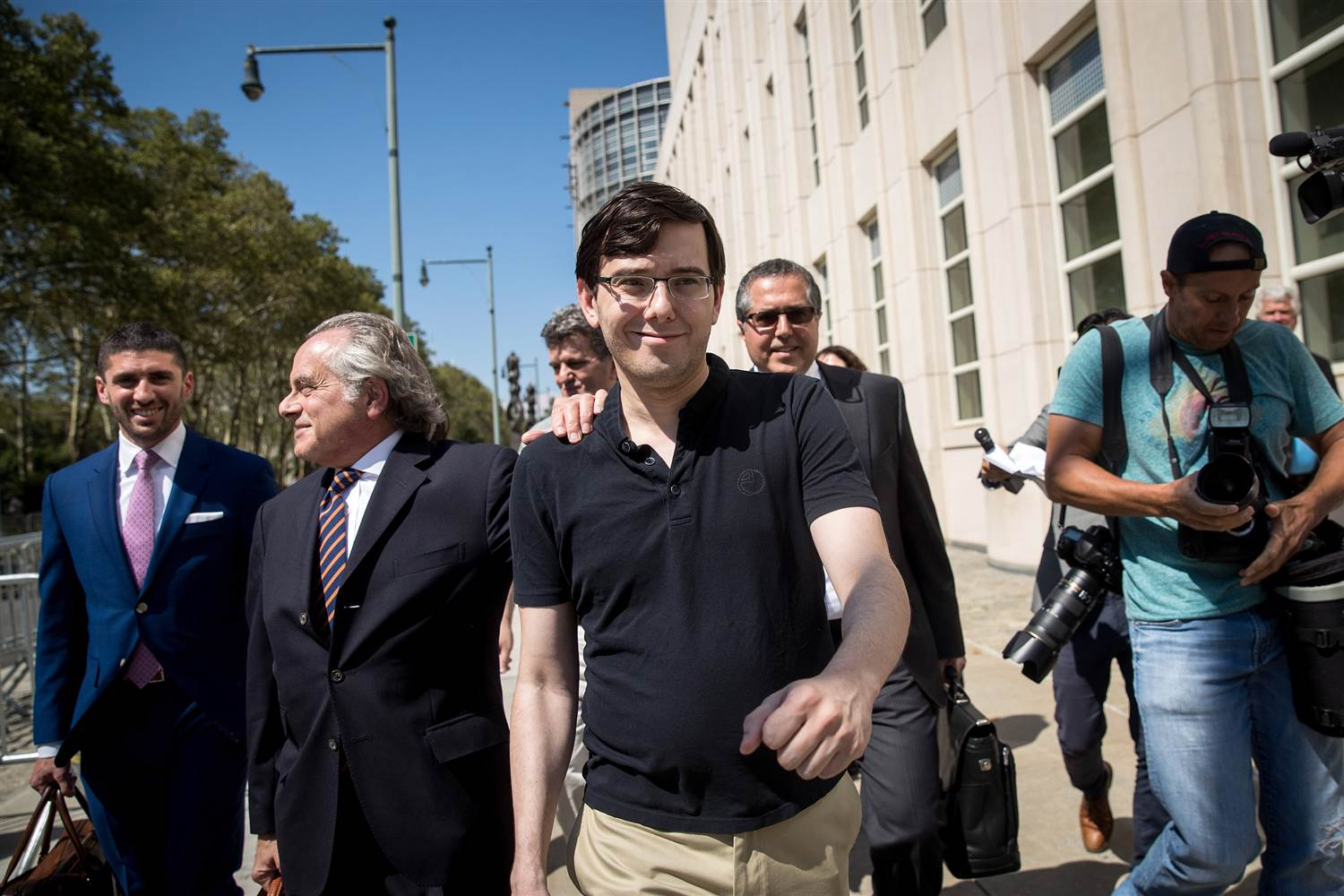JUST IN: Martin Shkreli sentenced to 7 years in prison for securities fraud. https://t.co/RVyjBzS6AR