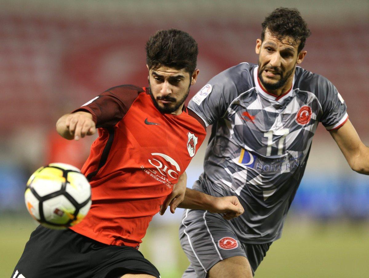 نهاية المباريات : . #الريان ١-٢ #العربي...