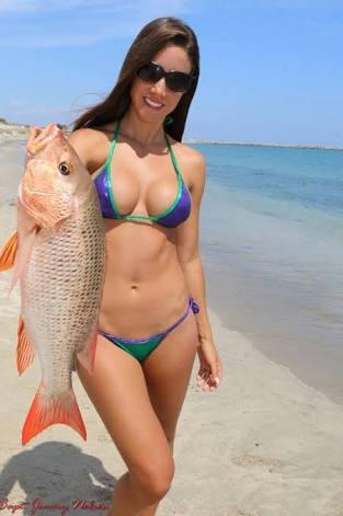 Fishing line bikini pic