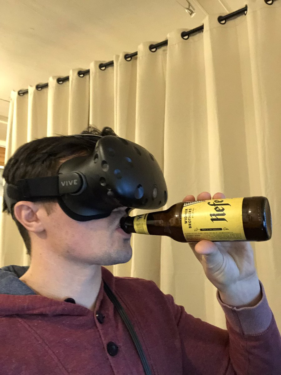 Image result for drinking vr beer
