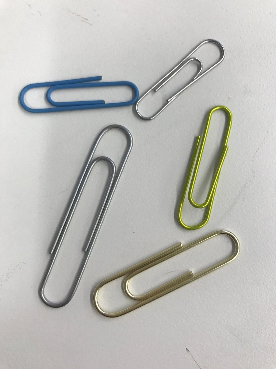 What a day! I found 5 new paper clips to add to my collection!