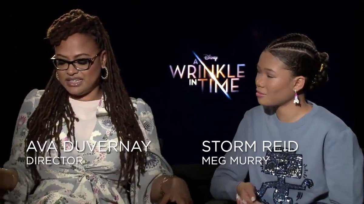 This #WrinkleInTime newcomer is taking audiences by storm. Hear what the cast & #AvaDuVernay had to say about @StormReid! amc.film/2oftsFh