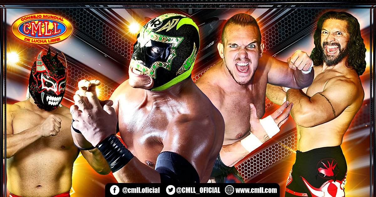 Segunda eliminatoria por el Campeonato Mundial de Parejas CMLL 3