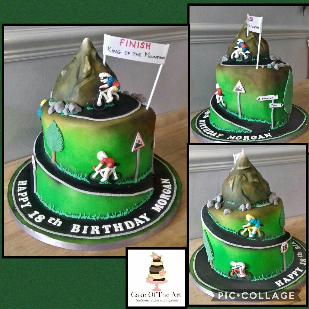 Cake Of The Art On Twitter A Chocolate And Caramel Cake For An