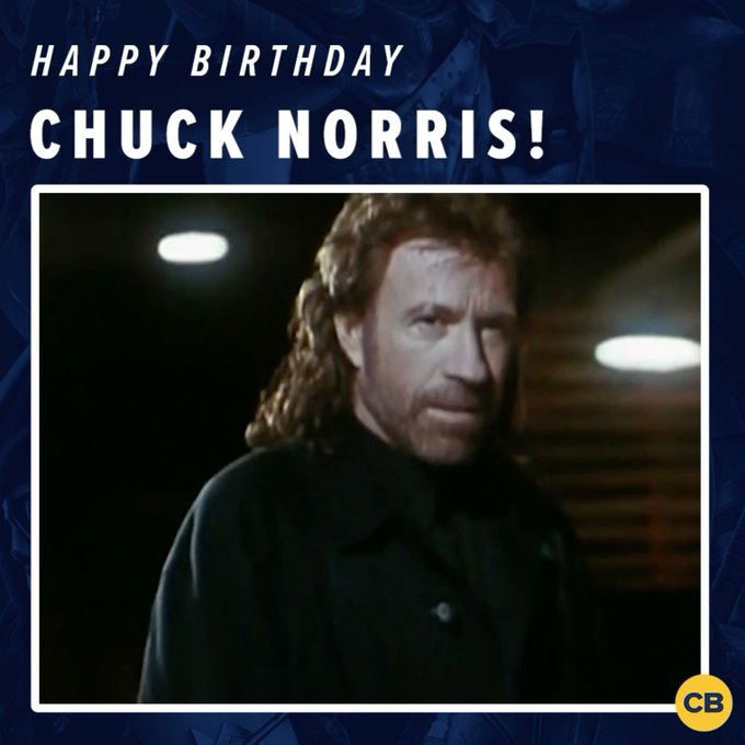 Chuck Norris doesn\t blow out birthday candles, they surrender their flames willingly...Happy birthday