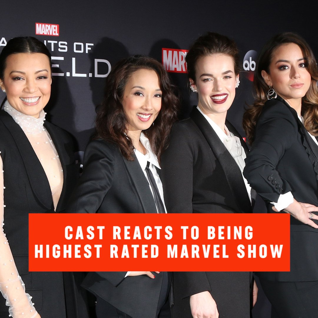 #AgentsOfSHIELD (95% 🍅) is the highest r...
