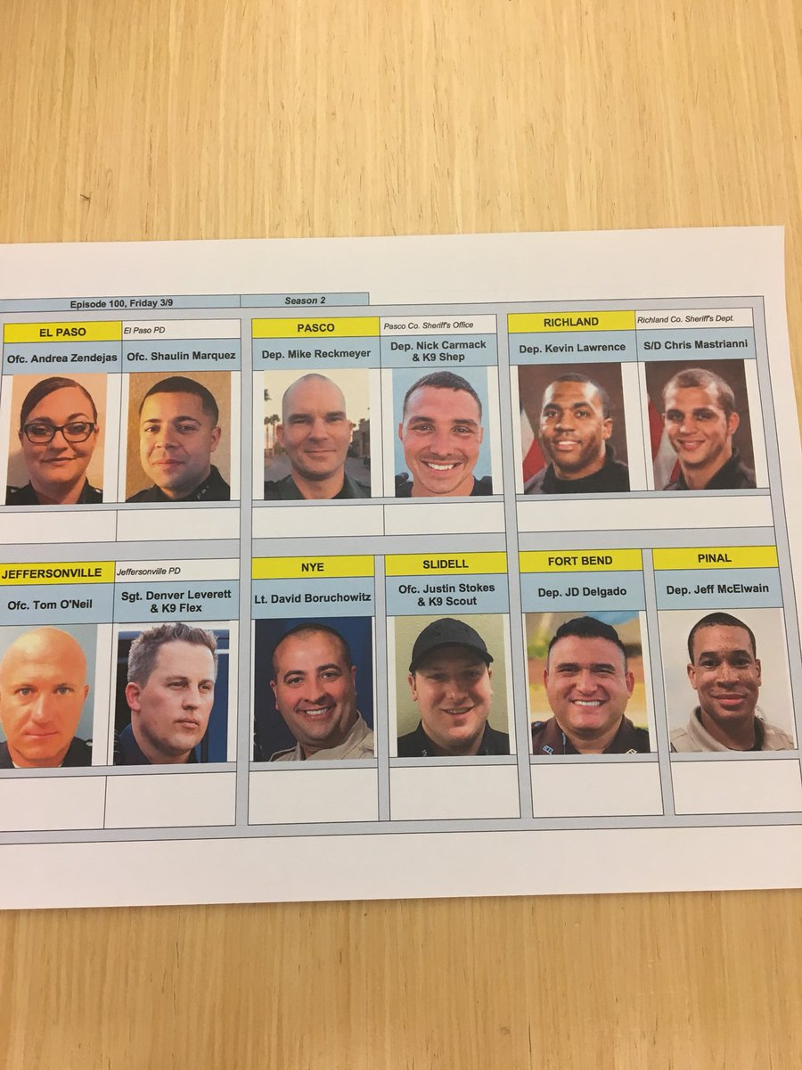 03 09 18 r/livepd Live Thread for the 100th aired episode