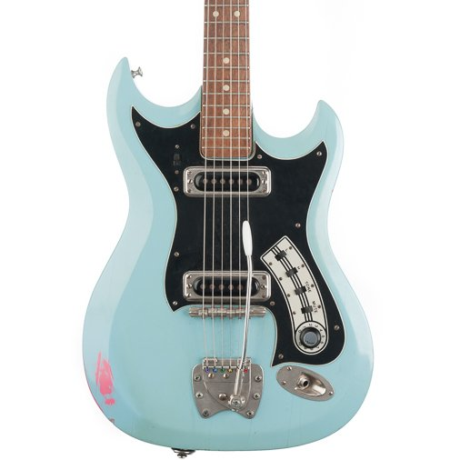 Listed On Reverb By Maindragmusic With Its Utterly Mysterious Pink Behind The Cool Blue Finish Googl Fem2E8 Pictwitter 2ZwlasLoh8