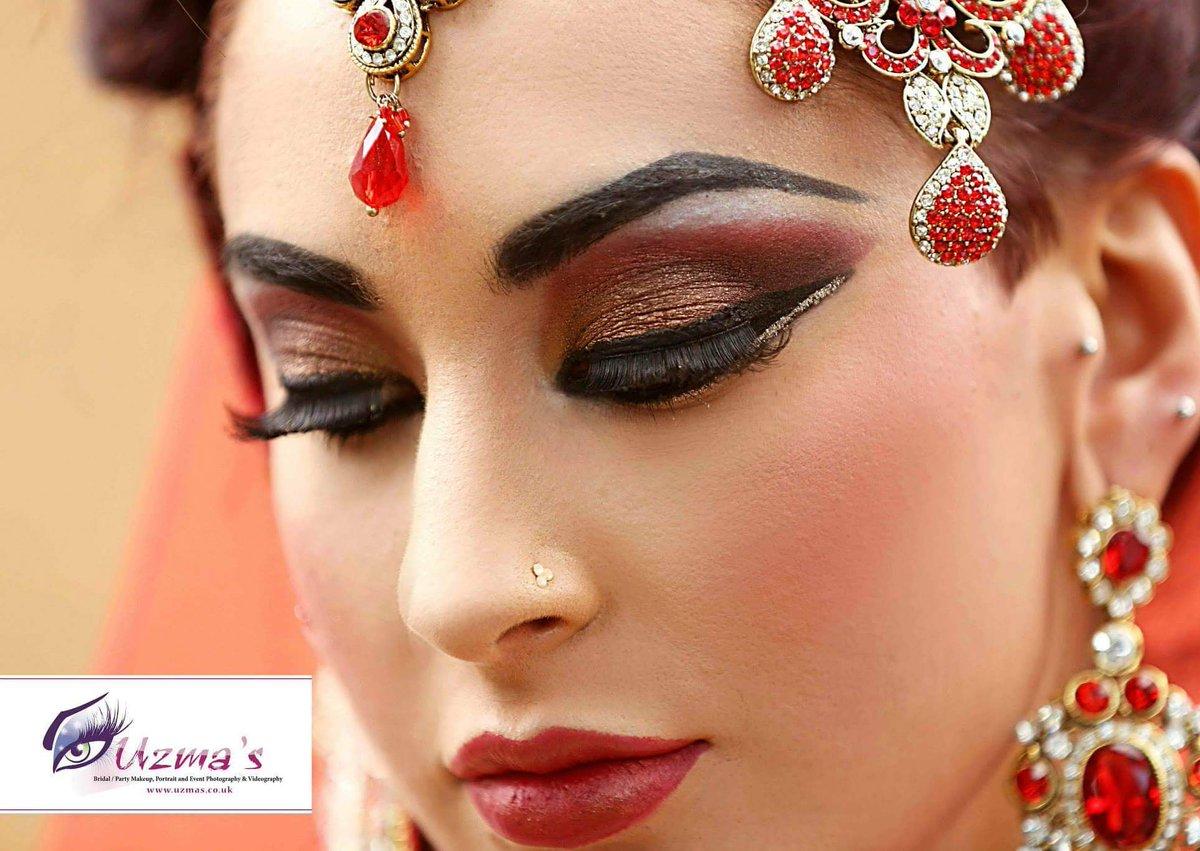 Uzma S Mehndi Makeup : Engagement and nikah makeup bridal wedding tips