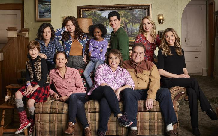 Roseanne - Season 10 - Promos, Cast Promotional Photos, Posters, Details + Premiere Date spoilertv.com/2017/12/rosean…