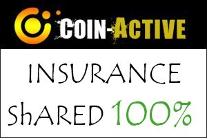Image for COIN ACTIVE Insurance shared 100%.