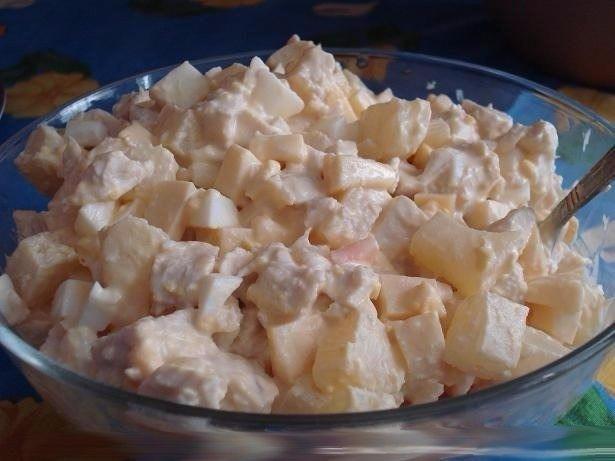 Салат дамский каприз рецепт с креветками