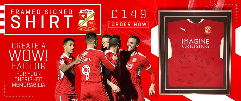 We have now got @Official_STFC framed signed shirts available to purchase in store and online for just £149 🔴⚪️ Follow the link to purchase yours now... goo.gl/6SBkmc