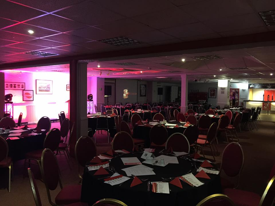 Spaces are filling up fast for our Sponsors Dinner on 20th March, but there are still some spaces available. Contact our Commercial Team to book! #STFC