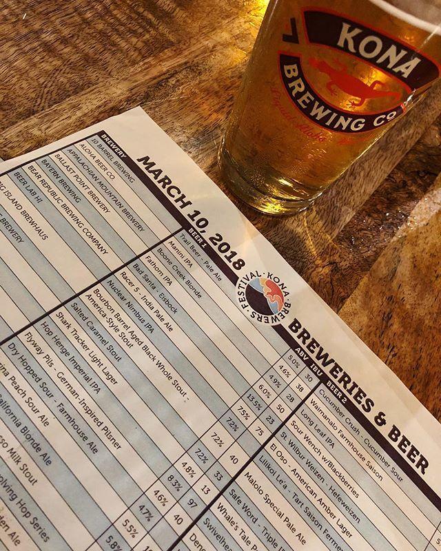 Kona Brewers Festival 🍻#hawaii knows #craftbeer #bigisland #schweinhaus #beer #pnw #prost ift.tt/2Hiq8jy