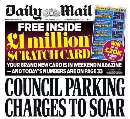 🔎 must've missed the daily mail headline slamming the tory