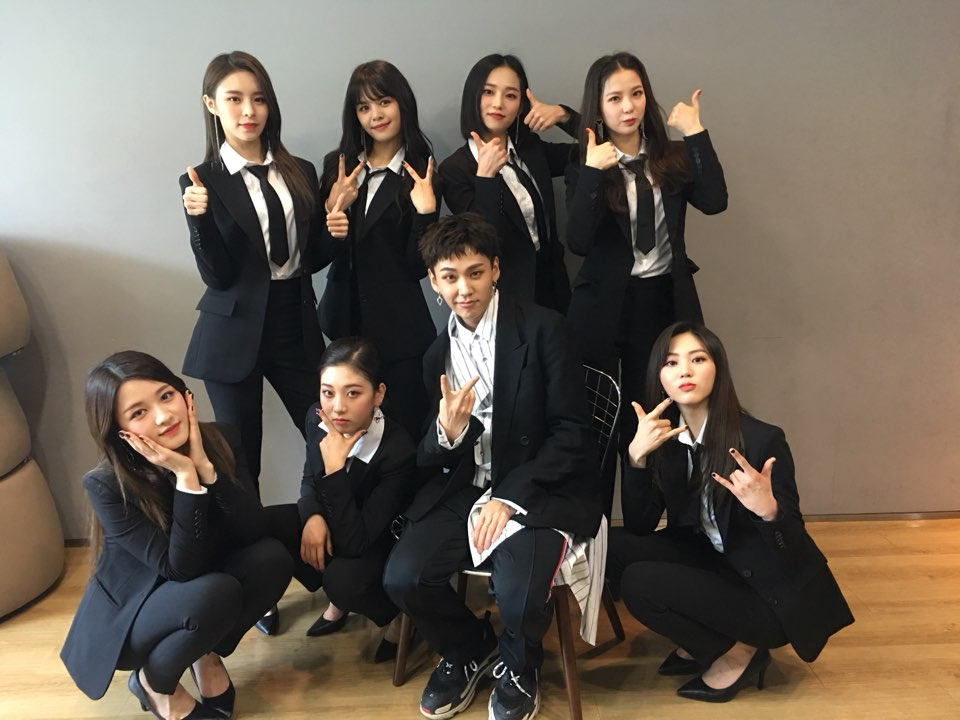 [📷] 20180310 @ 쇼!음악중심 CLC 와 함께한 일훈이의 특별한...