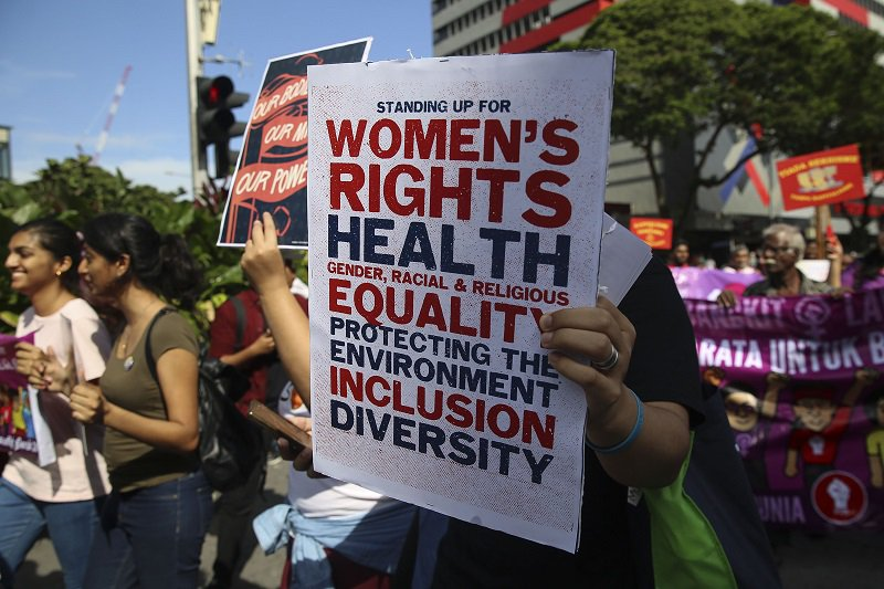 women s rights Women's rights activists have continued the call for full-fledged equality from voting rights to fair treatment in the workplace and the pursuit of reproductive and sexual freedom find out more about.