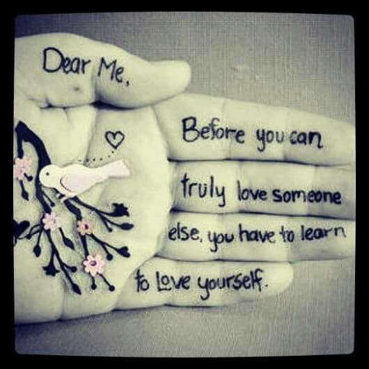 Miss Kitty On Twitter Dear Me Before You Can Truly Love Someone