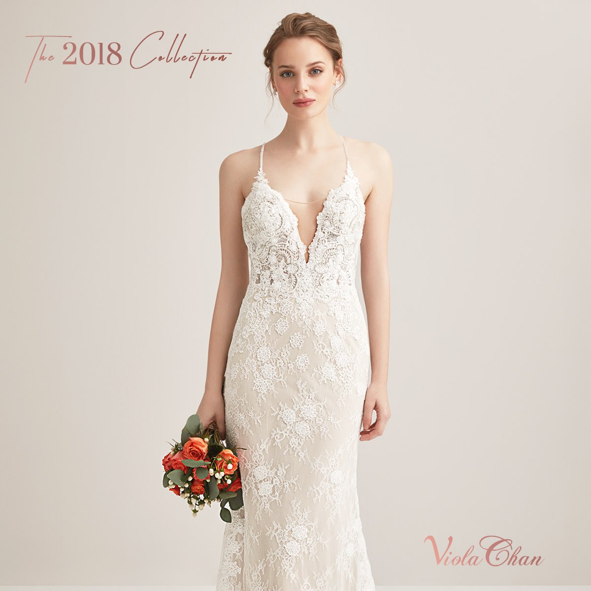 e75b3947a76 ... criss cross back by Viola Chan has our hearts racing. View the back of  this dress on http://www.brideandco.co.za Product code : WPD22431 Price :  R18 ...