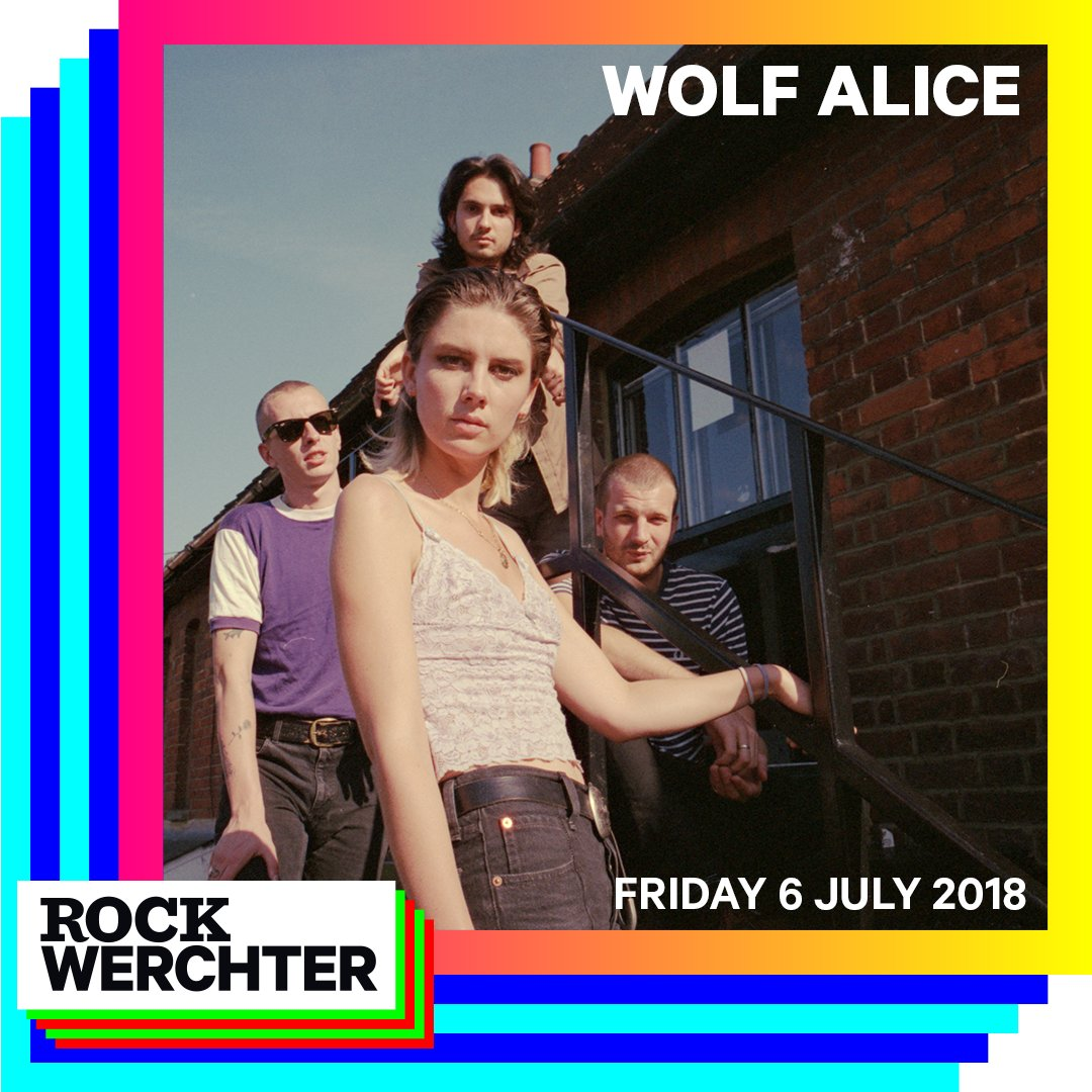 Belgium! Well be seeing you in July at @RockWerchter ! Tickets wolfalice.co.uk
