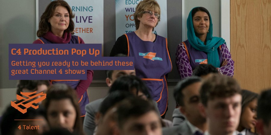 Want to know more about media production? Take your first steps with Channel 4 at our free Dundee event! Apply now bit.ly/2FEaEXB #C4PopUp @4Talent #4myfuture