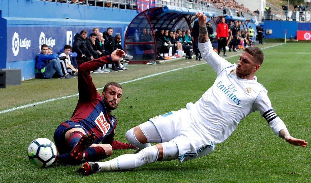 Ramos 'some' de jogo por cinco minutos, e Zidane alega problema intestinal: 'Acho que ele se c... um pouco' https://t.co/EGPwsbgEpd