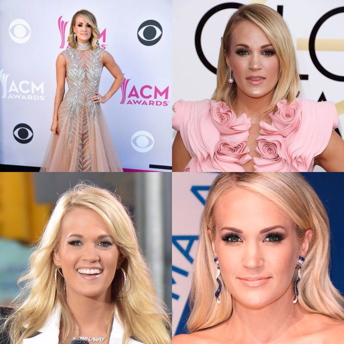 Happy 35 birthday to Carrie Underwood. Hope that she has a wonderful birthday.
