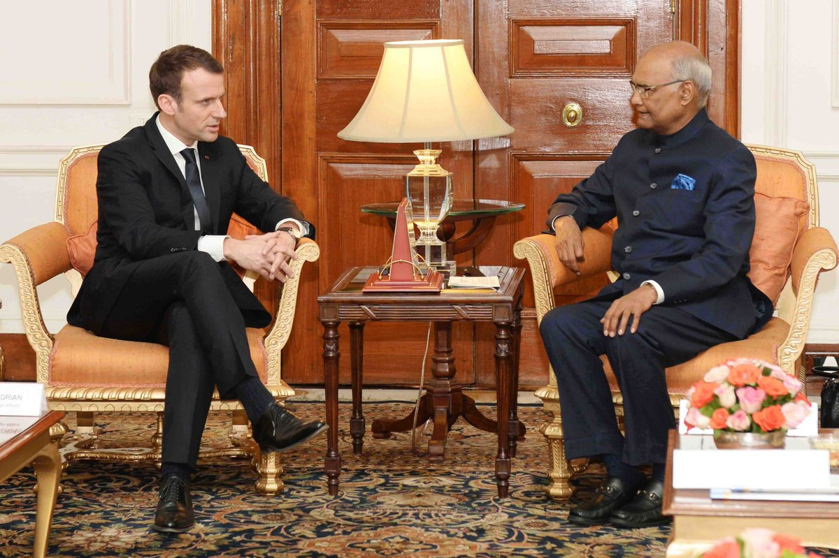Peaceful Indian Ocean must for India, Mauritius: President Kovind
