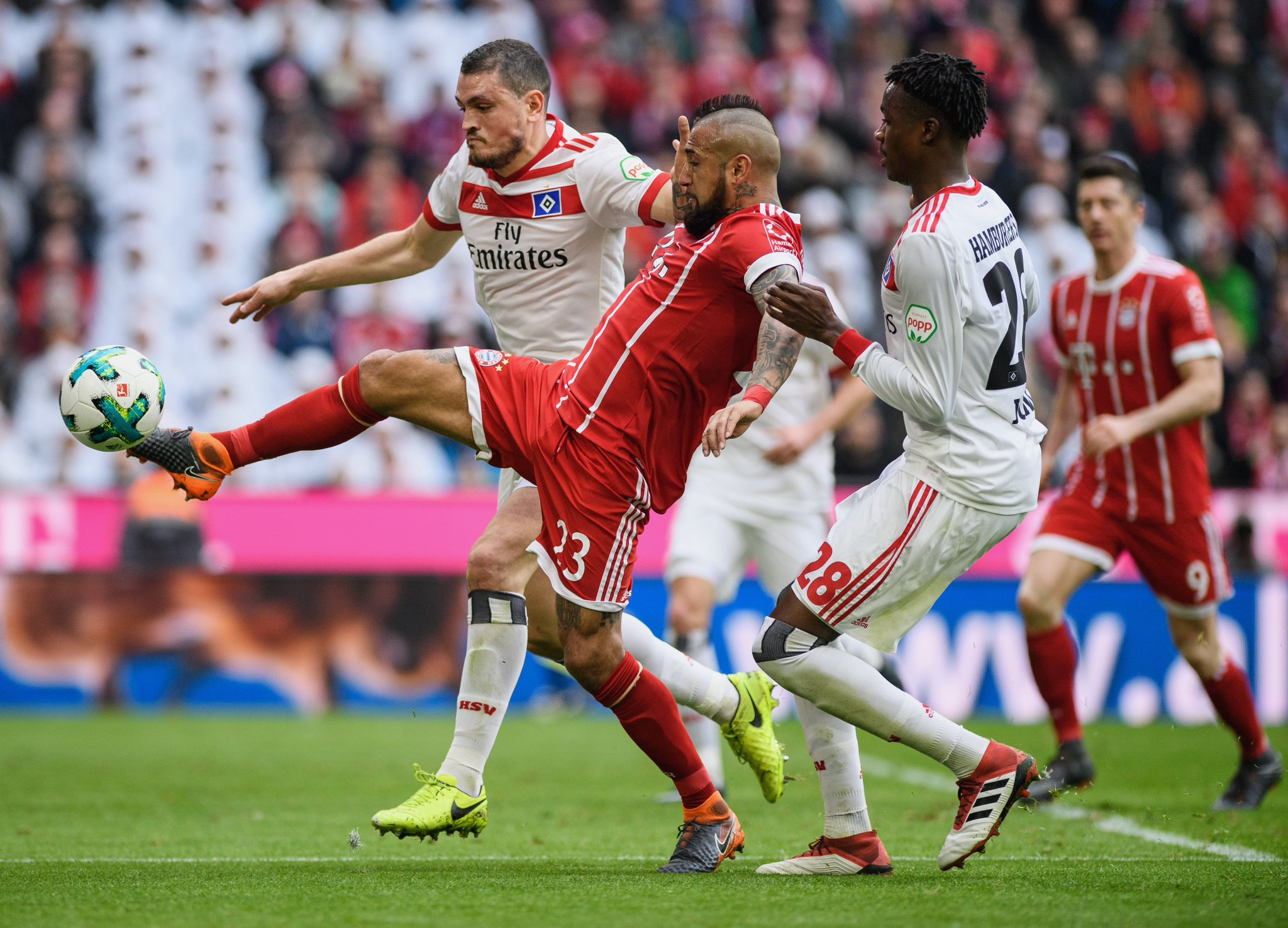 Bayer Munich vs Hamburger SV Highlights & Goals Video