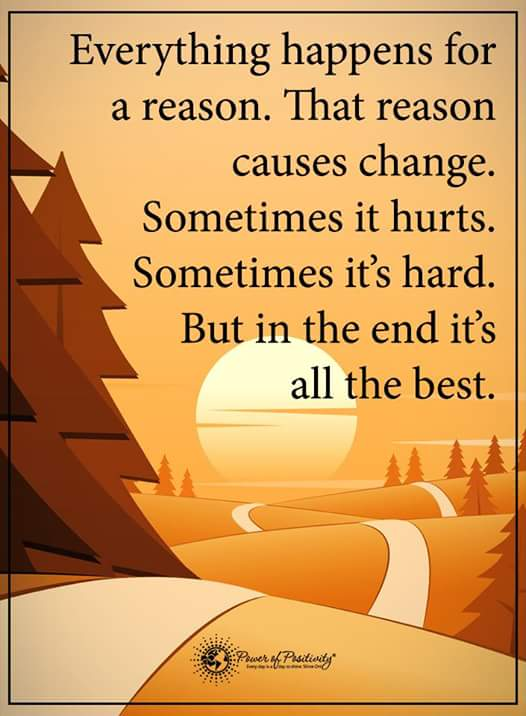 Inspirational Quotes On Twitter Everything Happens For A Reason