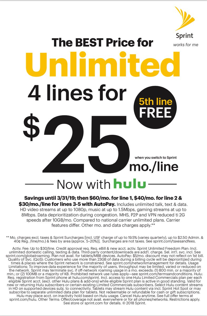 Sprint unlimited plans: Explained