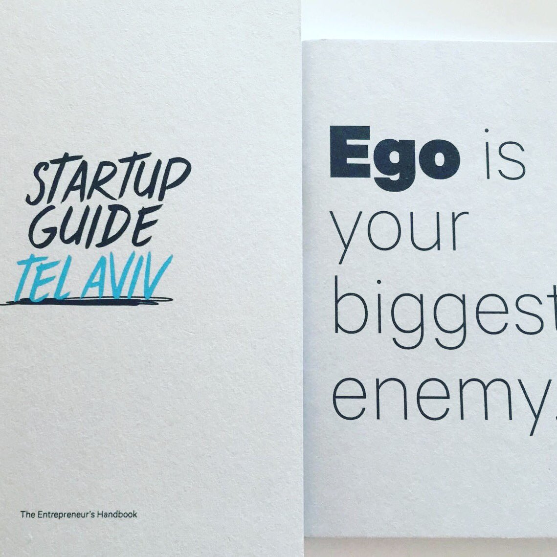 I already have the startup guide Tel Aviv from my friend Erez Gavish Excellent! See you Soon! #startupguide #telaviv #spain https://t.co/WQmU9A8rGO