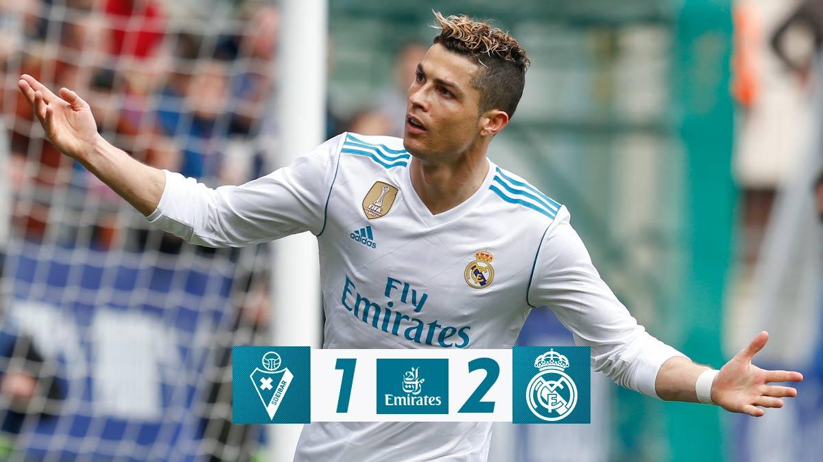 Chấm điểm kết quả Eibar 1-2 Real Madrid